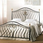 Bed with forged elements