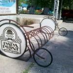 Parcare pentru biciclete
