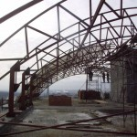 Металлическая крыша для фермы