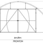Solariu de tip Tunel (schiţă Fronton)