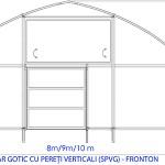 Solariu gotic Fronton