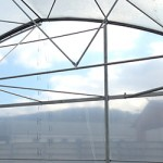 Solarium with vertical walls