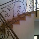 Balustrade, scări