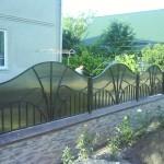 Gard cu policarbonat
